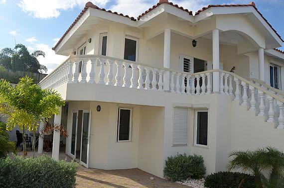 Het appartement van villa Kas di Bon Bida