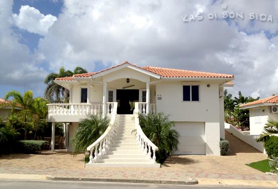 Vakantie villa op Curacao Kas di Bon Bida in Jan Thiel op Marbella Estate