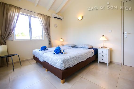 Slaapkamer 1 - vakantievilla op Curaçao