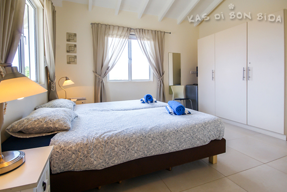 Slaapkamer 2 - vakantievilla op Curaçao